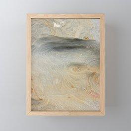the magic of a rock Framed Mini Art Print