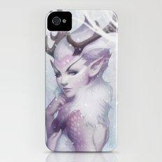 Reindeer Princess iPhone (4, 4s) Slim Case