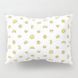 Rock Climbing Holds Yellow Pillow Sham