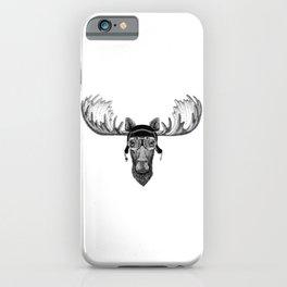 Moose Pilot iPhone Case
