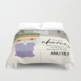 It is our choices Duvet Cover