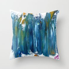 Untitled Abstract #3 Throw Pillow