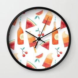 Summatime Wall Clock