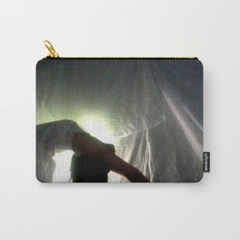 White Noise Carry-All Pouch
