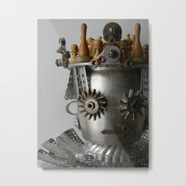 The Queen of Things Discarded and Forgotten Metal Print