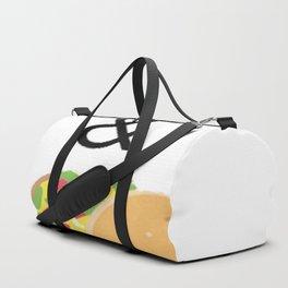 Hockey & Taco (with Taco Clip Art) Duffle Bag