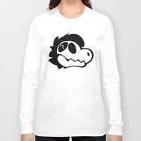 logo Long Sleeve T-shirts featuring Logo! by Mynosylexia