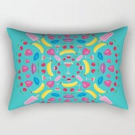 Summer Cocktail Mandala Rectangular Pillow