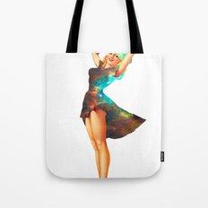 Cosmic Pinup # 2 Tote Bag