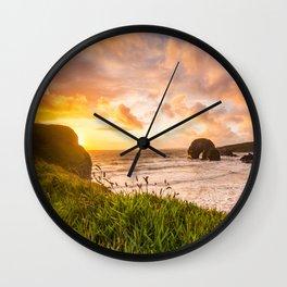 Nun's Beach Ballybunion Wall Clock