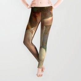 Guillamume Seignac Diana The Huntress 1870 Roman Mythology Goddess Of The Hunt Moon And Nature Leggings