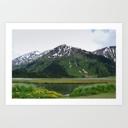God's_Country - IIIbbd, Alaska Art Print