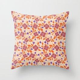 Modern Floral - Funky Throw Pillow