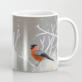 Safe transitions! // (polygonal bull-finch) Coffee Mug