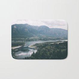 Columbia River Gorge IV Bath Mat