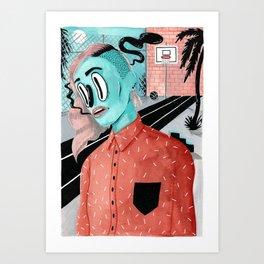 SPORTS FIELD Art Print
