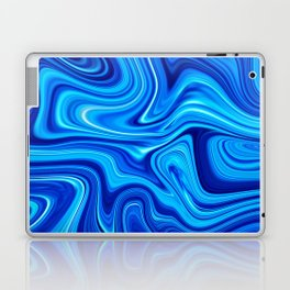 Ocean blue marble Laptop & iPad Skin