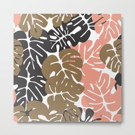 Tropical pattern 027 Metal Print