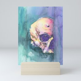 Colorful Skull 6 Mini Art Print