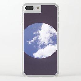 Sky Hole Clear iPhone Case