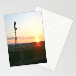 Montana Sunset Stationery Cards