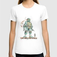 teenage mutant ninja turtles T-shirts featuring Michelangelo Teenage Mutant Ninja Turtles by Carma Zoe