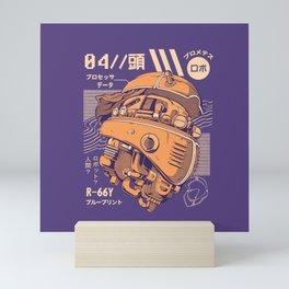 Robo-head Mini Art Print