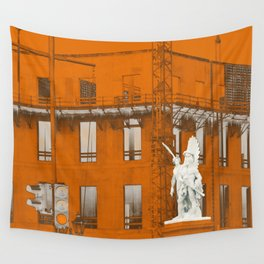 Wings of desire Wall Tapestry