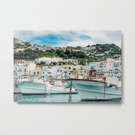 Capri Italy Fine Art Print Metal Print