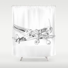 BF109 Shower Curtain