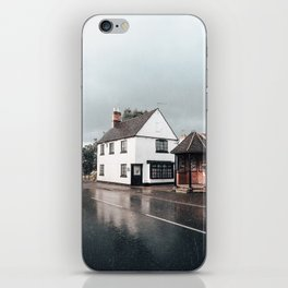 Rain storm in England iPhone Skin