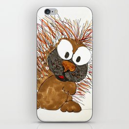 porcupine iPhone Skin