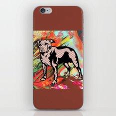 Super dog pop art iPhone & iPod Skin