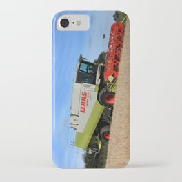 A Touch Of Claas 'Claas Lexion 470' Combine Harvester iPhone Case
