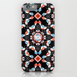 Lovebird Lattice iPhone Case