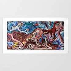 Medusa Exposed Art Print
