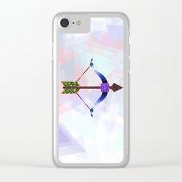 Sagittarius Clear iPhone Case