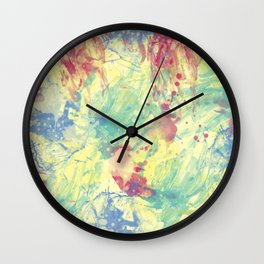 Abstract III Wall Clock