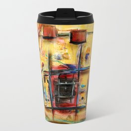 Acryl-Abstrakt 32 Travel Mug