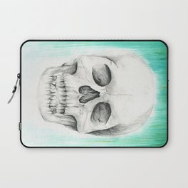 Fall with Water - Skull Laptop Sleeve