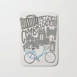 Cambridge Cityscape Bath Mat