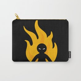 Flaming Anger Carry-All Pouch