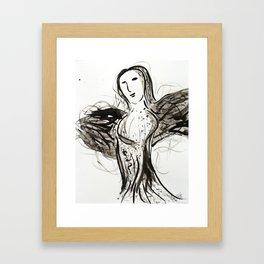 Bustier Framed Art Print
