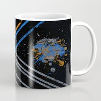grid Mugs featuring Grid by Last Call