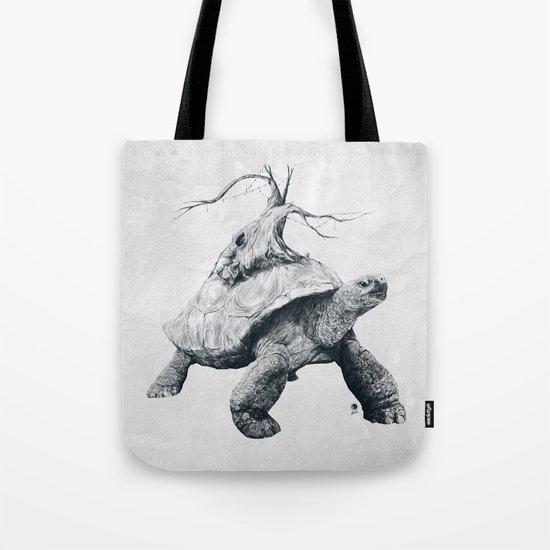 Tortoise Tree Tote Bag
