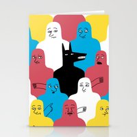 wolf Stationery Cards featuring A Wolf by Jack Teagle