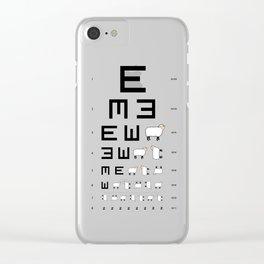 The EWE Chart Clear iPhone Case
