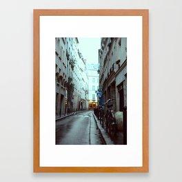 Avenues & Alleyways Framed Art Print