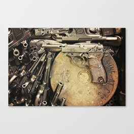 An art of Peacemaking Canvas Print