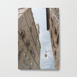 Volterra medieval village Metal Print